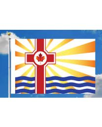 Canadian Christian flag