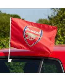 Arsenal Car Flag