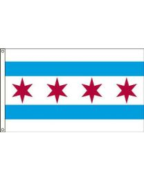 Chicago City Flag