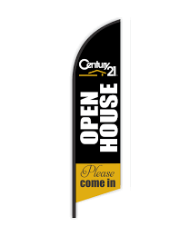 Century21 Open House Feather Flag