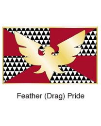 Feather (Drag) Pride Flag