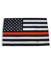 Fire Fighter Rescue Flag