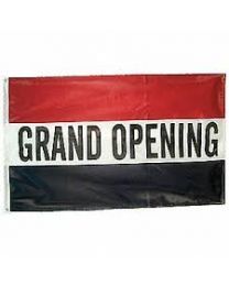 Grand Opening Message Flag