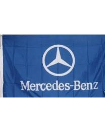 Mercedes Benz Corporate flag