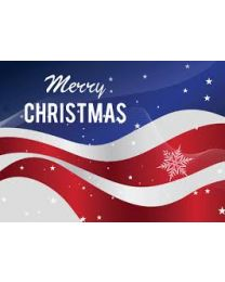 Merry Christmas Day Flag