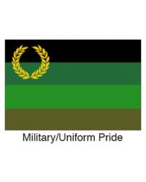 Military Uniform Pride Flag