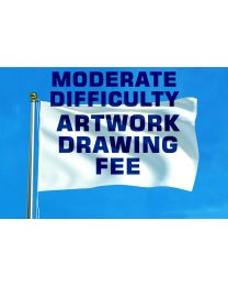 Moderate Difficulty Artwork Redraw Fee