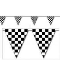 Pennant streamer (checkered 25M)