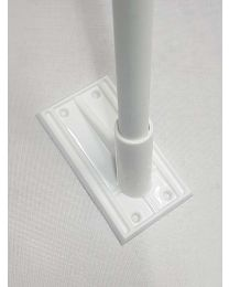 Wall Mounted Flag Pole Bracket (Plastic)
