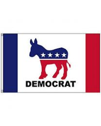 Political party flag (democrat)