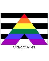 Straight  Allies Pride Flag