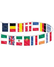 Flags of the world streamer (25M)